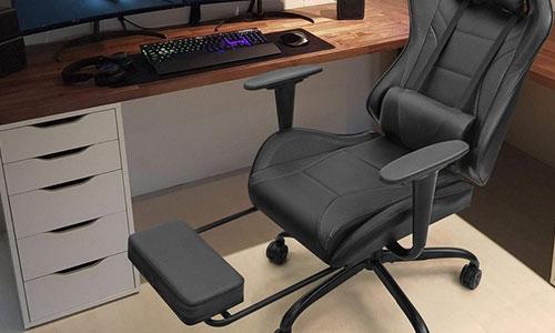 Tipos de Cadeira Gamer - cadeira-gamer-apoio-pes